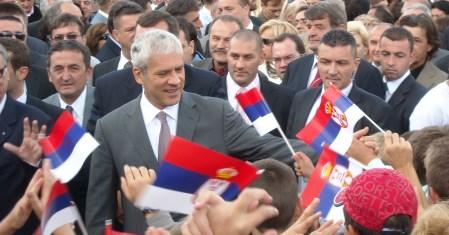 otvorenje osnovne škole Srbija na Palama