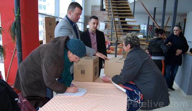 Настављена акција даривања помоћи пред празнике
