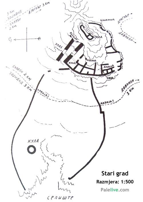 Osnova Starog grada