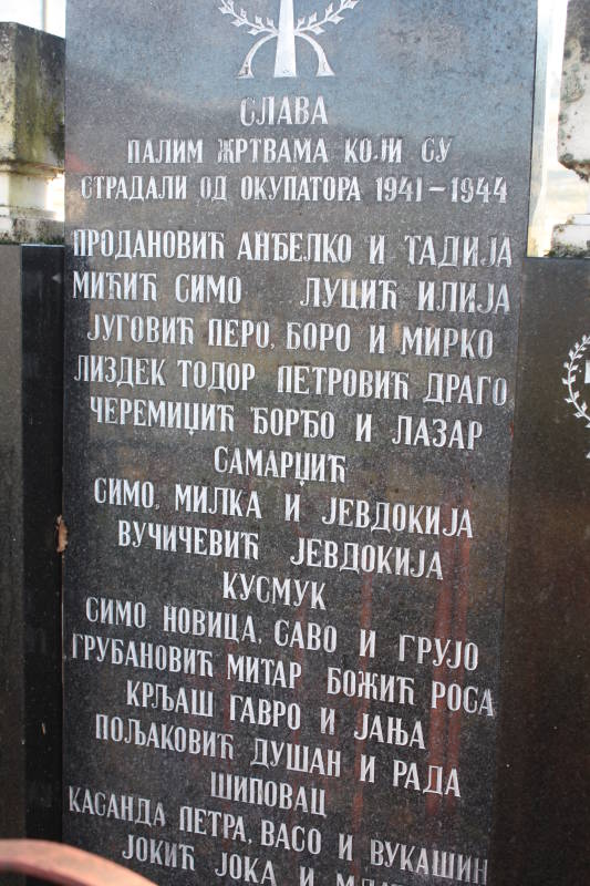 Spomenik žrtvama ustaškog terora Mokro -2