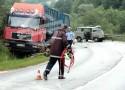 Poginuo vozač kombija
