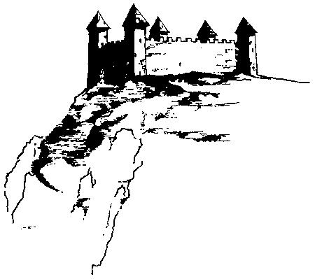 Jedna od rekonstrukcija utvrđenja Hodidjed