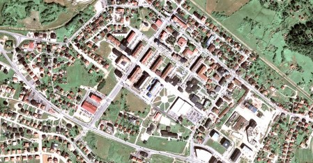 Satelitski Snimak Srbije Mapa Superjoden
