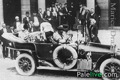 Franc Ferdinand sa svojom suprugom Sofijom dolazi u Sarajevo