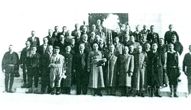 Paljani na slavi Karađorđevića na Oplencu