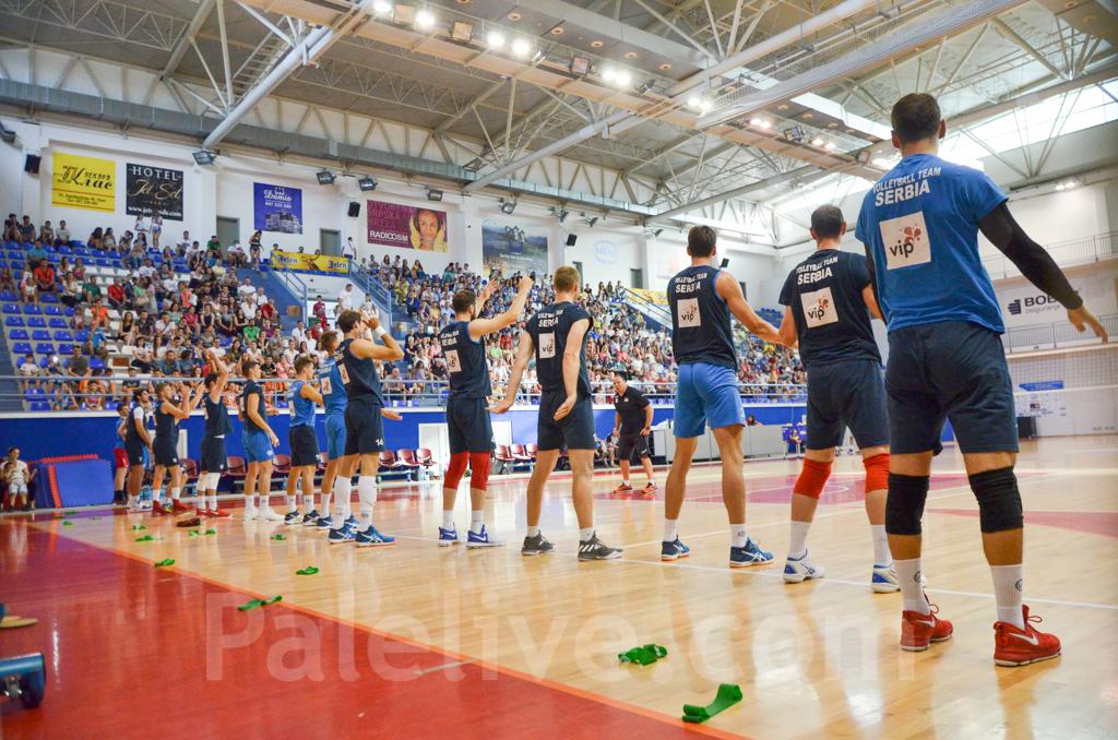 Bronzani reprezentativci Srbije na otvorenom treningu u Palama