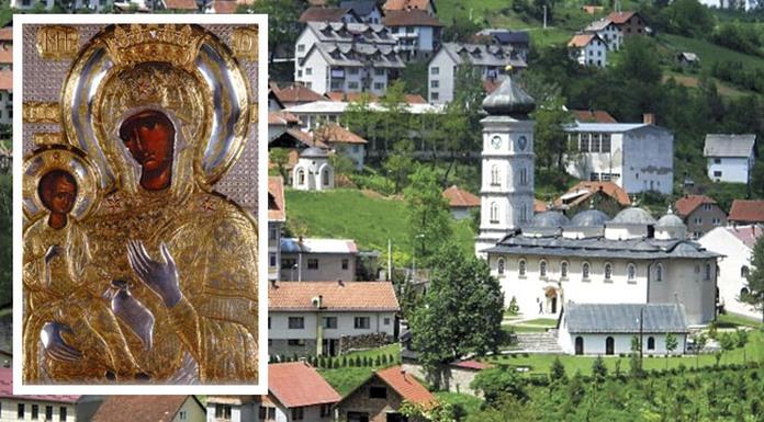crkva Čajniče - Čajnička Krasnica ikona
