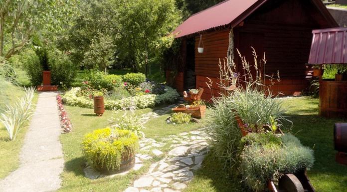 Dvorište Slađane Čečar - najuređeniji porodični kutak