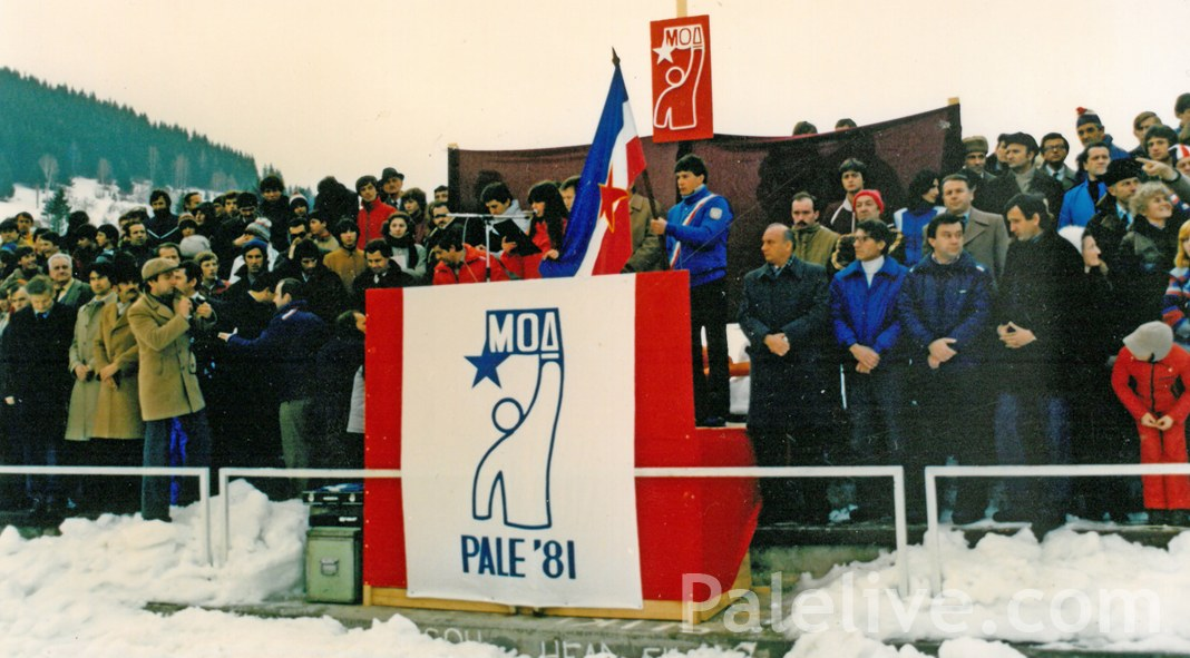 Zatvaranje MOI Pale 1981. na sportskim terenima na Koranu