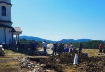 Uređenje porte crkve Svete Jelene