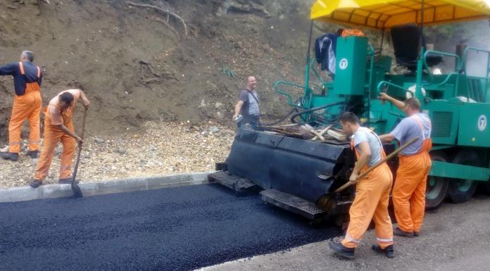 Počelo asfaltiranje puta prema Višegradskoj banji