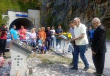 Obilježeno 25 godina od stradanja Srba u tunelu kod Višegrada