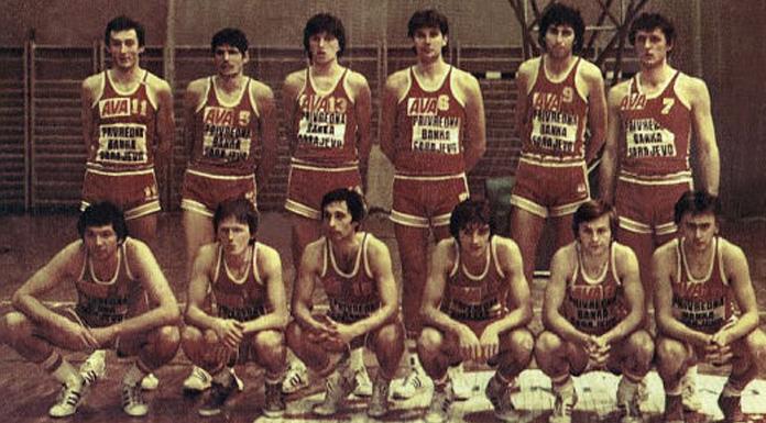 Šampionska generacija KK Bosna iz Sarajeva