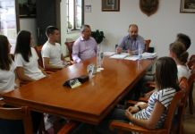 Prijem za veslače koji putuju na Balkansko prvenstvo u Istanbulu