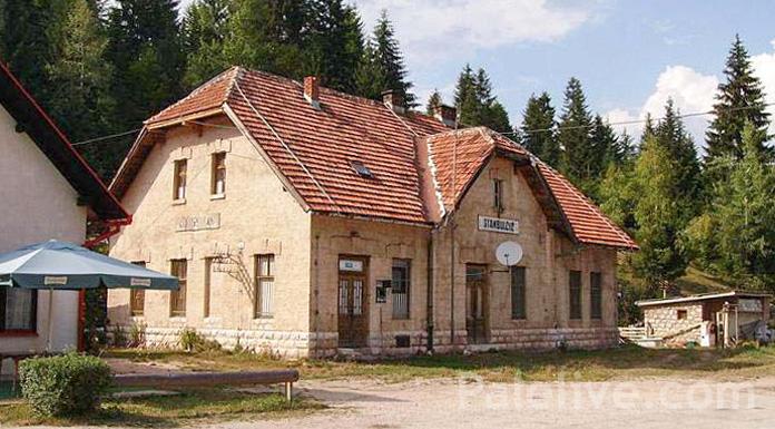Željeznička stanica Stambulčić danas