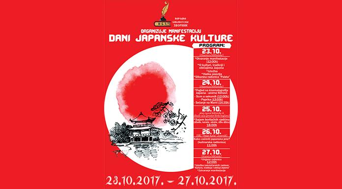 "Od sutra ""Dani japanske kulture"""