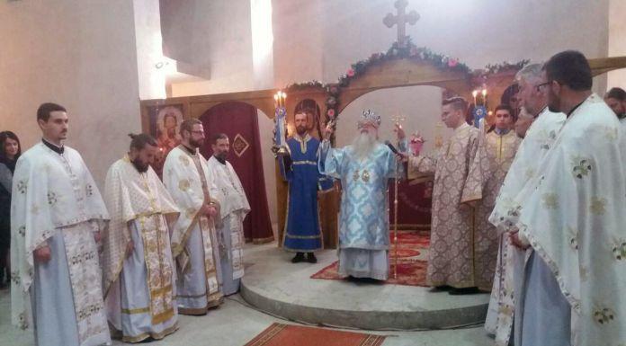 Služena liturgija na praznik Pokrova Presvete Bogorodice