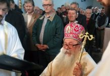 Mitropolit Hrizostom služio liturgiju na Megdanu