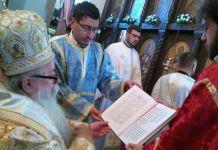 Mitropolit Hrizostom služio prvu liturgiju na Sokocu