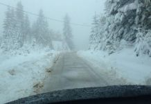 Jahorina snijeg oktobar