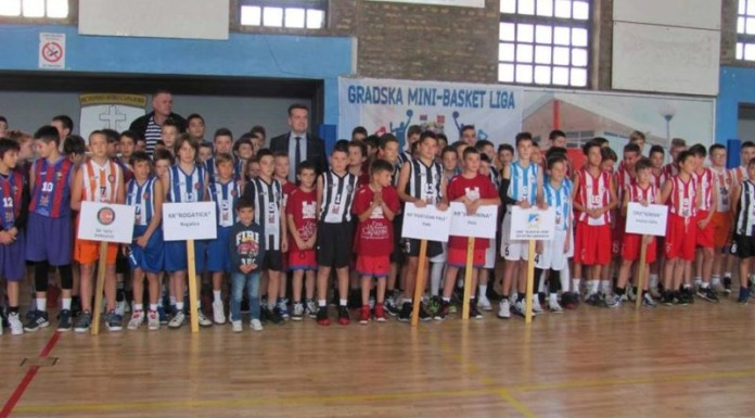 Više od 180 mališana na mini košarkaškoj gradskoj ligi
