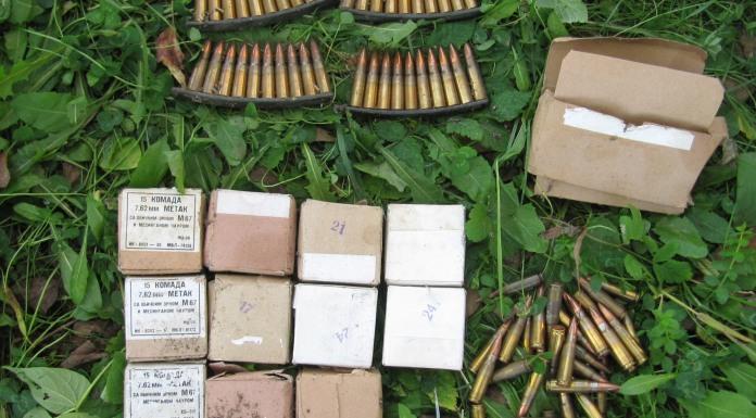 U Drinjači pronađeno oružje i municija