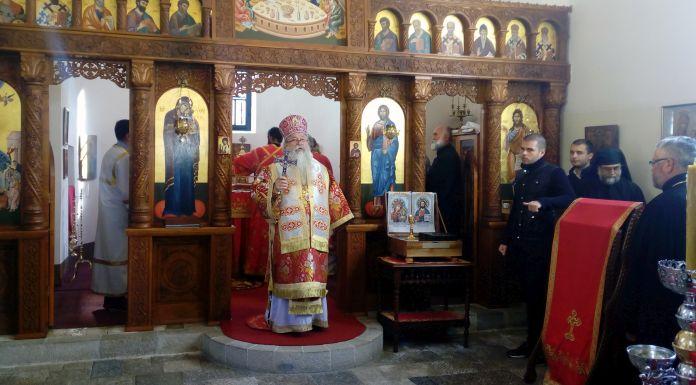 Služen dvogodišnji pomen mitropolitu Nikolaju