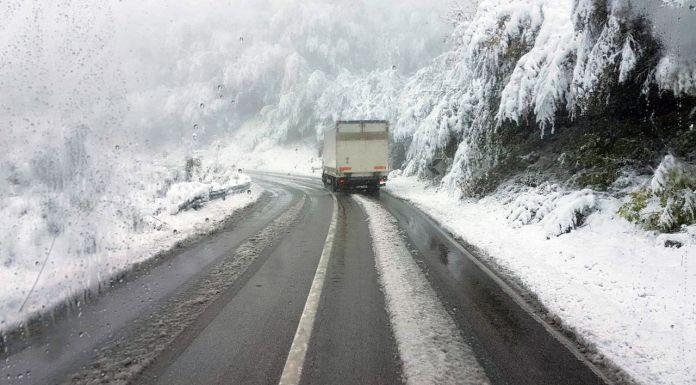 Snijeg usporava saobraćaj preko Rogoja
