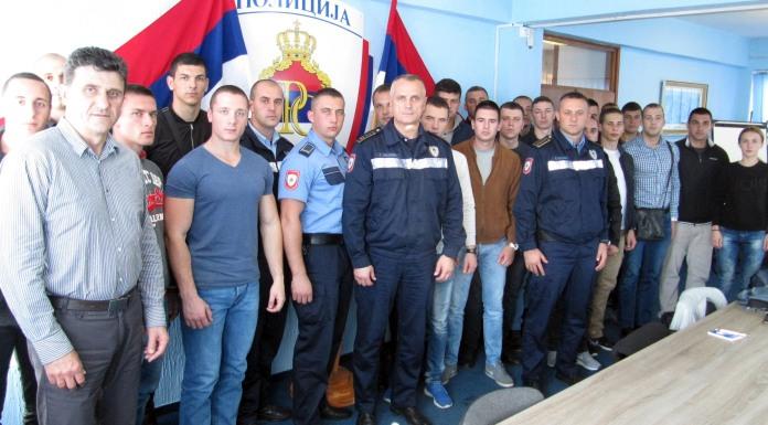 Prijem za 24 nova policijska službenika