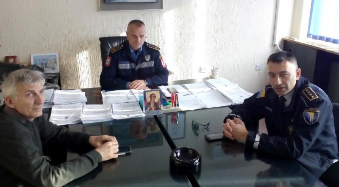 Saradnja sa Graničnom policijom na otkrivanju migranata