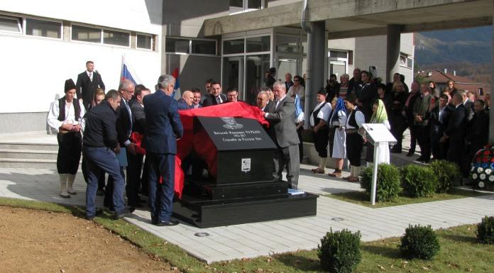 Otkriveno spomen-obilježje ambasadoru Čurkinu