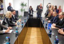 """Počeo sastanak Cvijanovićeve sa rukovodstvom preduzeća """"HE na Drini"""""""