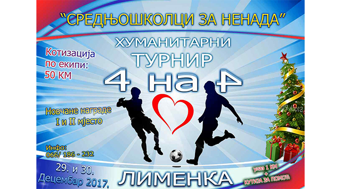 Sutra počinje dvodnevni humanitarni futsal turnir