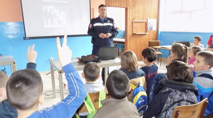 Predavanje za učenike o pirotehnici