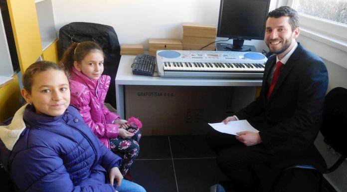 Počela sa radom škola crkvene muzike