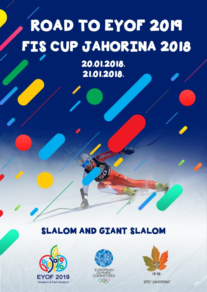 "Road to EYOF 2019 počinje sa FIS trkom ""Jahorina 2018"""