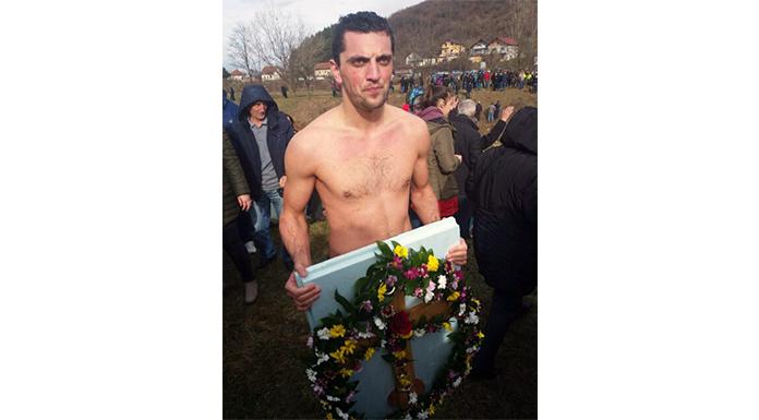 Gradimir Miladinović prvi stigao do Časnog krsta
