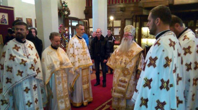 Mitropolit Hrizostom služio Svetu liturgiju