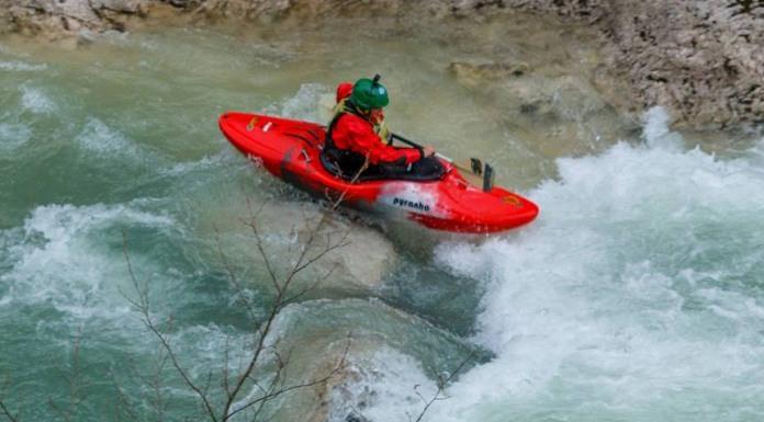 Pjenušava Sutjeska izazov za kajakaše