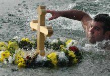 Veliko interesovanje za plivanje za Časni krst u Vojkovićima