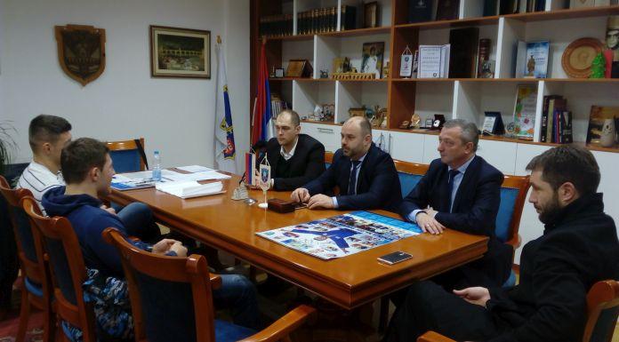 Đurević organizovao prijem za Nemanju i Stefana Majdova