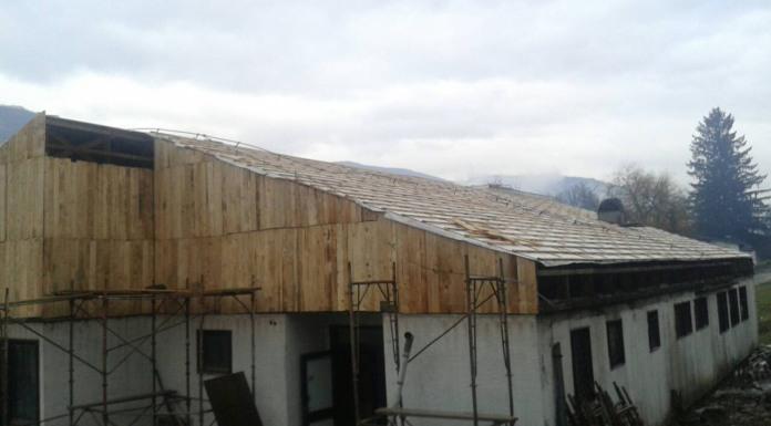 Počela rekonstrukcija svadbenog salona