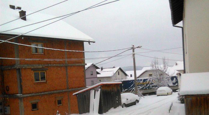 Bez većih teškoća zbog snijega