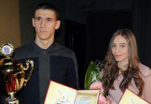Sportisti godine Srđan Draškić i Sanja Šakotić