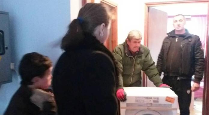 Doniran kućanski aparat porodici Živković