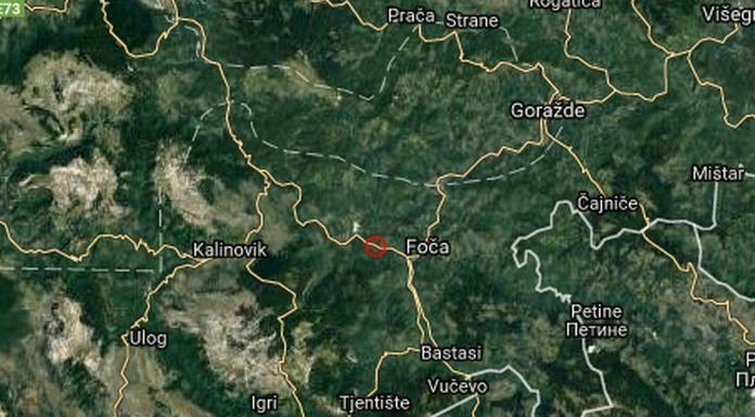 Zemljotres probudio Fočake