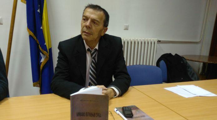 """Promovisana zbirka pjesama """"Krvavo buđenje Srba"""""""