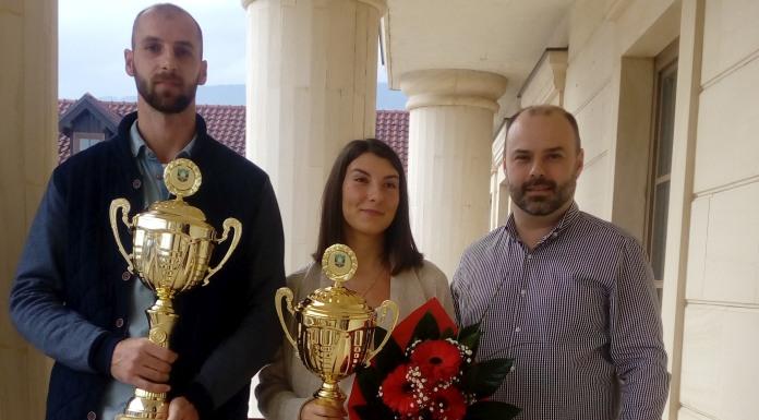 Marija Lekanić i Nemanja Stanimirović sportisti godine