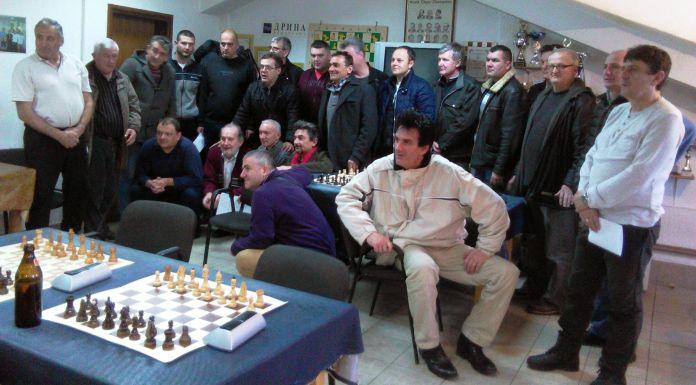 Internacionalni šahovski majstor pobjednik Sretenjskog turnira