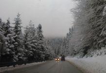 Palo 10 centimetara novog snijega
